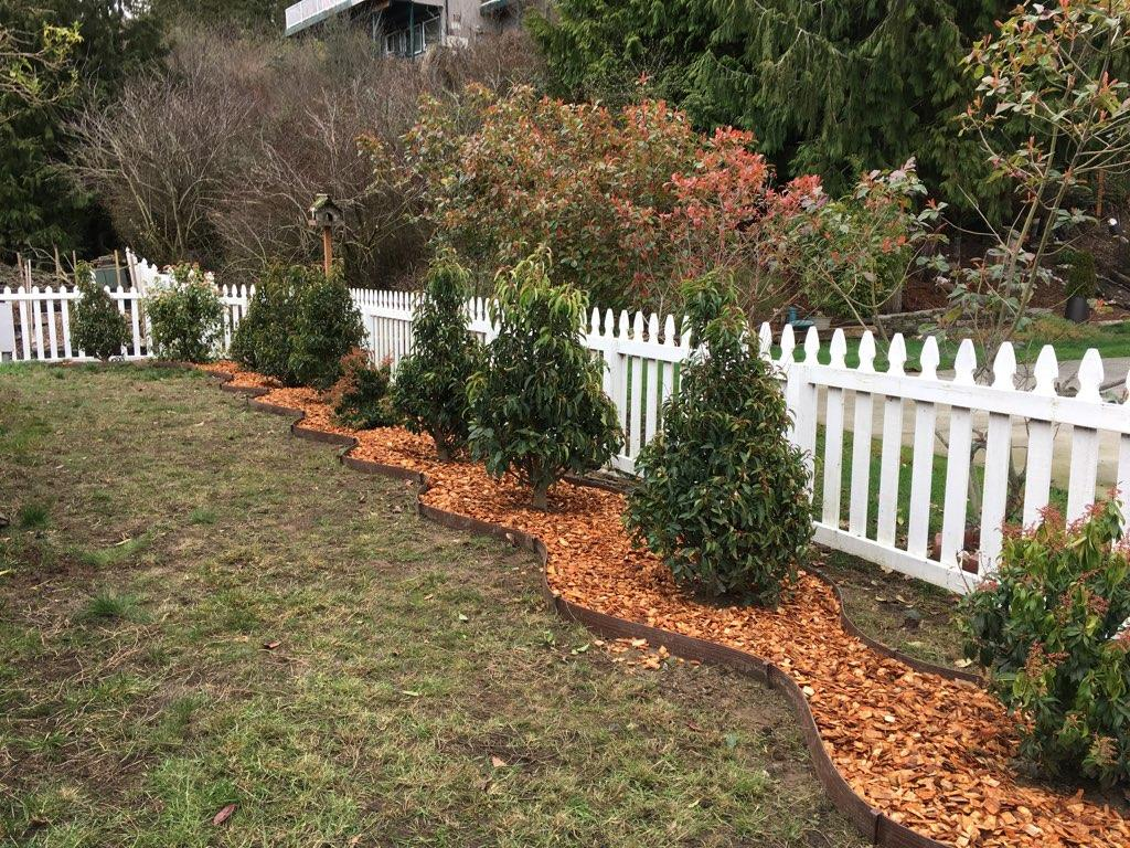Wood chips landscaping outdoor goods